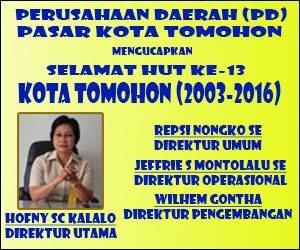 PD Pasar Tomohon, Hofny Kalalo
