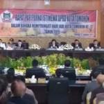 HUT ke-12 Kota Tomohon, DPRD Tomohon Gelar Rapat Paripurna