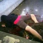 Korban pembunuhan di Tomohon