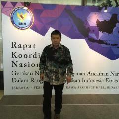Bupati Minahasa Tenggara , MITRA, narkoba, James Sumendap SH, Badan Narkotika Nasional