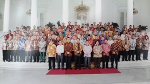 Walikota Bitung, Kepresidenan Bogor, Hanny Sondakh, Presiden RI Jokowidodo