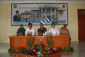 Kunker dan Silaturahmi Kakandepag Sulut di Tomohon