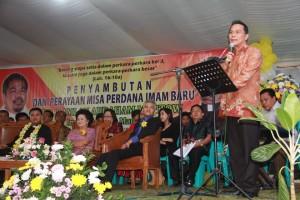 Misa perdana Pastor Ramlan A Mantow