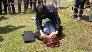 12 Adegan, Pembunuhan Astry Akay Direkonstruksi di Mapolres Tomohon2