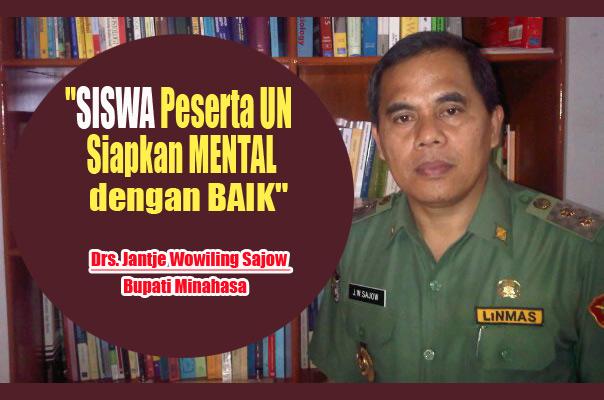jws, Bupati Minahasa