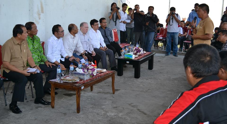 Walikota Bitung, Bitung, Hanif Dhakiri, Kota Bitung, Menaker