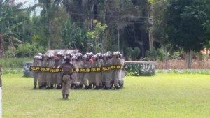 Pol PP Provinsi,  Tomohon , Drs Roy Mewoh