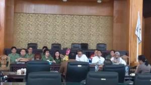 Hearing Komisi 3 DPRD Tomohon dengan PT PGE Lahendong