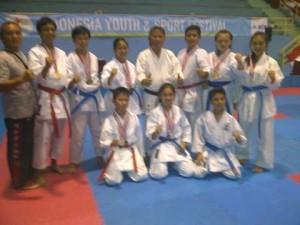 IYOS 2015 Cabang Karate, Sulut Rebut 6 Medali Emas, 3 Perak dan 7 Perunggu