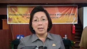 Dana hibah, Kota Tomohon,DPPKBMD Kota Tomohon, Dr Juliana D Karwur MSi MKes