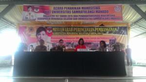 KKNT Unsrat , Universitas Sam Ratulangi, minsel, minahasa selatan,  Prof Dr Ellen Joan Kumaat MSc DEA,