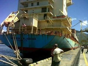 Kapal Maersk Alabama, Pertama Kali di Indonesia Berlabuh di Bitung