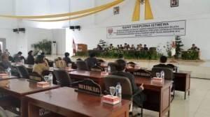 Dewan Perwaklan Rakyat Daerah , minsel, minahasa selatan, Bupati Minsel, Christiany Eugenia Paruntu, LKPJ 2014