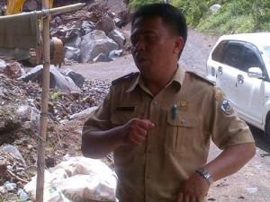 Gunung Lokon, Tomohon, Sulawesi Utara,Kakaskasen I ,  Agustinus Rumondor, lurah