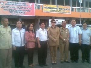 Minahasa Selatan, minsel, Christiany Eugenia Paruntu, KPU, Franley Pangemanan,