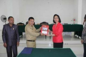 Pemkab Mitra Teken MoU dengan Universitas Sam Ratulangi