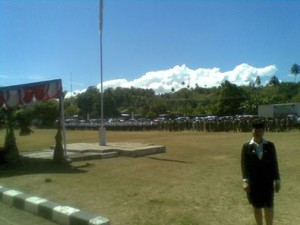 Satuan Polisi Pamong Praja, minsel, minahasa selatan, Christiany Eugenia Paruntu