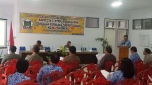 Pemerintah Kota Tomohon, Polres, TNI, Kejaksanaan, Kesbangpol Kota Tomohon, P Roring