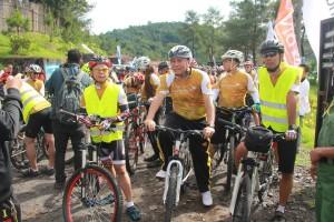 Walikota ikut Tour de Tomohon