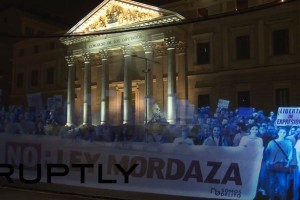 Demonstrasi, Demonstrasi virtual, hologram, Holograma Para la Libertad,