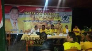 Wakil Ketua DPD Partai Golkar , Drs Victor Rompas ,Partai Golkar ,  Jimmy F Eman SE Ak