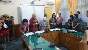 Unsrat,Bank BNI,  Memorandum of Understanding, Deperindag Sulut ,Alwy Pontoh