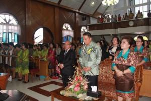 Walikota Tomohon hadiri Ibadah Hapsa W/KI