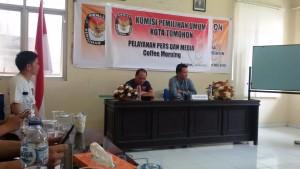 Kota Tomohon,  Kementrian Dalam Negeri , KPU Tomohon, Beldie Tombeg SY