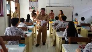 UN SMP, tomohon, SMP tomohon, ujian nasional, Drs Gerardus E Mogi