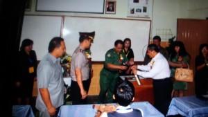 Kapolres Tomohon , tomohon, UN SMP, SMP Stella Maris, Kapten Vecky Welang,
