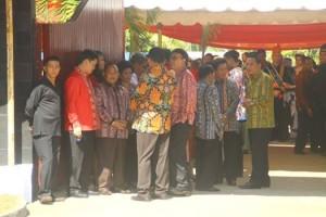 Walikota Jimmy F Eman SE Ak menghadiri BBGRM nasional di Minut