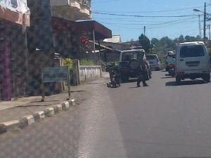 Taksi Liar, Tomohon , Kelurahan Kamasi