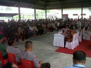 Polda Sulut dan Pemkab Mitra mediasi perdamaian di Ratatotok