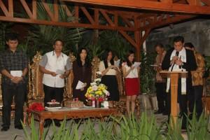 Syukuran empat tahun Walikota Tomohon Definitif