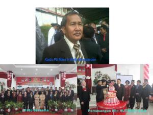Dinas Pekerjaan Umum, Menyampaikan Selamat HUT ke-8, Kabupaten Minahasa Tenggara