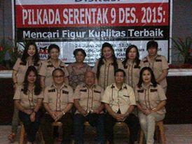 AGM Sulut , pilkada 2015,  Aliansi Gerakan Membangun , Ketua AGM Sulut, Drs Bernie Tamara
