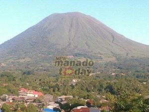 Gunung Lokon, tomohon, pendakian lokon, Mahawu Farid Bina