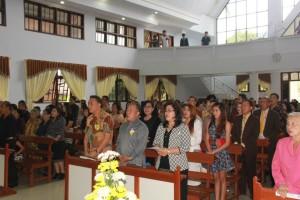 ibadah HUT ke-8 GMIM Anugerah Paslaten