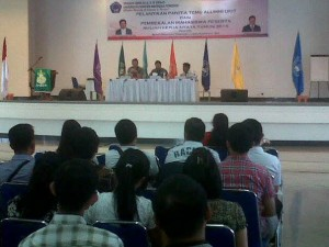 Pembekalan KKN UKIT oleh Bupati Minahasa Tenggara