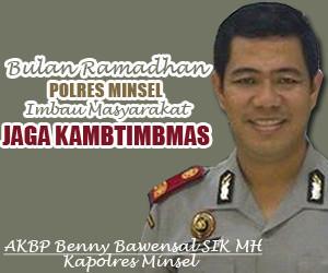 Kapolres Minsel, Benny Bawensal
