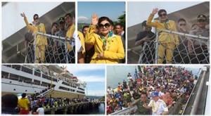 Pelabuhan Amurang, Pelayaran PELNI, Christiany Eugenia Paruntu,