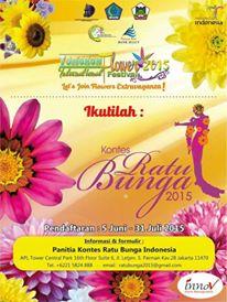 Ratu Bunga, ratu bunga Indonesia , tomohon, ratu bunga 2015
