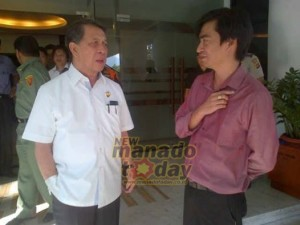 Filipina, Pengusaha ikan , DR. Sinyo Harry Sarundajang, menteri KP