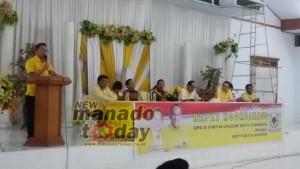 Partai Golkar , Golkar Tomohon,  Drs Theo Sambuaga,  Jimmy F Eman SE Ak
