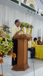 Drs Theo L Sambuaga MA di Rakor DPD II Partai Golkar Tomohon dengan DPP