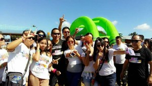 Walikota Tomohon, Jimmy F Eman SE Ak , Colour Run , Fun Walk