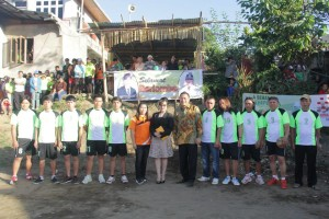 Walikota Tomohon di Pembukaan Rangkaian HUT ke-70 RI di Rurukan