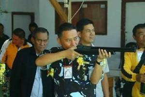 Walikota Tomohon, Kejuaraan Menembak, Jimmy F Eman