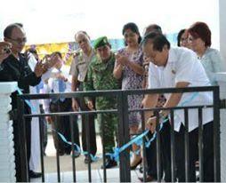 Wawali Bitung  Resmikan Kantor Kas Bank Sulut di Pulau Lembeh