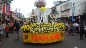 Pantai Kuta Bali, Tomohon International Flower Festiva, TIFF 2015,